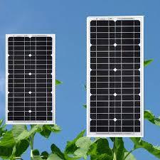 Waterproof Photovoltaic Panel 18v 20w 2Pcs <b>Solar Panels 40w</b> ...