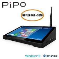 <b>PIPO X9S</b> 4GB 64GB <b>Windows</b> 10 & Android 5.1 Mini PC Intel ...