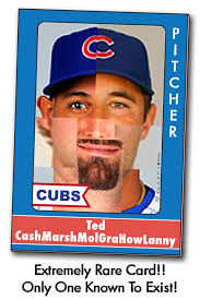 Rare Baseball Card I will take any Cub victory, any Cub time, any Cub way - even if it takes 7 Cub pitchers (otherwise known as Ted CashMarshMolGraHowLanny) ... - 6a00d83451fe4669e20133f1c2faf0970b-800wi