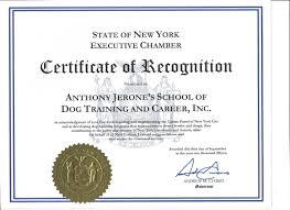 dog school nyc dog training certification program nyc dog certificate