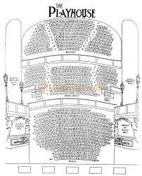 Woodwork Playhouse Seating Plan London PDF Plansplayhouse seating plan london
