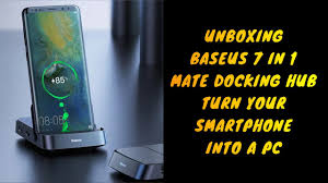 Unboxing <b>Baseus 7 in 1</b> Mate Docking Hub Station turn your ...