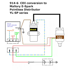 mallory ignition distributor wiring diagram mallory wiring bosch cdi 914 6 mallory e fire 8001186726211 mallory ignition distributor wiring diagram