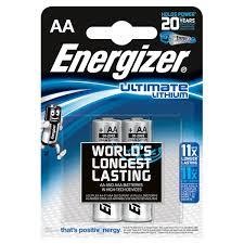 Купить <b>Батарея Energizer</b> Ultimate <b>Lithium</b> AA FSB2 в каталоге ...