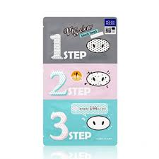 Buy <b>Pig Nose Clear</b> Blackhead 3-Step Kit Online - <b>Holika Holika</b>