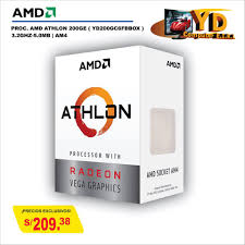 YD Computer - PROC. <b>AMD ATHLON 200GE</b> ( <b>YD200GC6FBBOX</b> ...