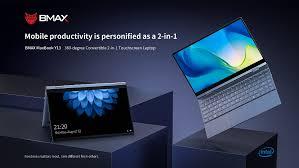 <b>BMAX Y13</b> 360° Laptop <b>13.3 inch</b> Notebook Windows 10 8GB ...