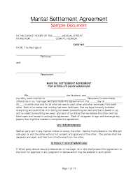 separation letter of this credit repair letter is used for photos of marriage separation agreement sample marriage separation