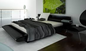 image of contemporary black bedroom furniture bedroom furniture in black