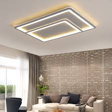 <b>NEO Gleam Grey</b> Color Modern led ceiling lights for living room ...