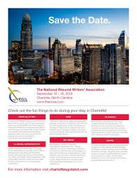 The National Resume Writers      Association   Save The Date Pinterest