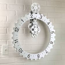 50 cool and unique wall clocks you can buy right now big unique diy wall clocks