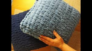 <b>Чехол для подушки из</b> плюшевой пряжи alize puffy - YouTube