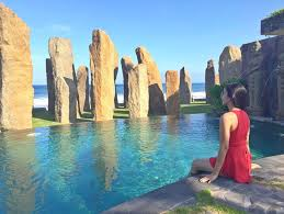 Image result for the stones beach restaurant bali
