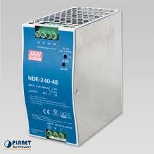 PWR-240-48 <b>48V</b>, <b>240W Din-Rail Power</b> Supply (NDR-240-48 ...