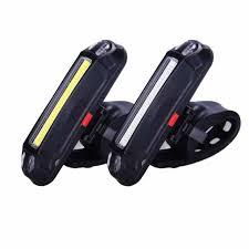 <b>Fully Intelligent Steering</b> Brake Rear Lamp USB Rechargeable ...