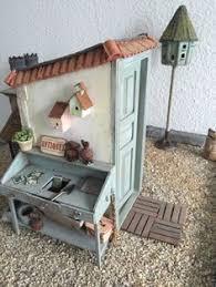 miniature garden shed bl 112 dollhouse miniature