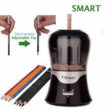 Adjustable Lead Thickness Automatic Electric Pencil Sharpener ...