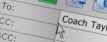 sending letters and emails to coaches track coach cover letter