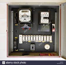 old fuses fuse box stock photos & old fuses fuse box stock images Old Fuse Box electricity meter in box with old style fuses, circa 1962, in new zealand home old fuse box diagram