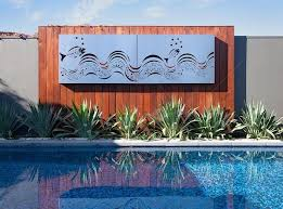 designs outdoor wall art: outdoor wall art ocean waves out door wall art carving ultimate metal crafting hand made