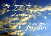 Sympathy Quotes Loss Of Dad. QuotesGram