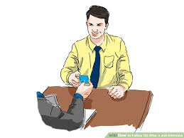 how to follow up after a job interview  examples  wikihow image titled follow up after a job interview step 2