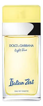 Dolce Gabbana Light Blue <b>Italian</b> Zest - купить в Москве женские ...
