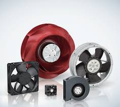 Compact fans for AC, DC and EC