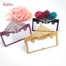 <b>100pcs Fashion Lace</b> Wedding Decoration Invitations Table Name ...