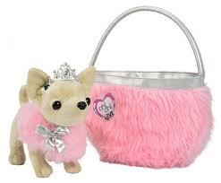 <b>Мягкая игрушка Simba</b> Chi chi love Чихуахуа принцесса с сумкой ...