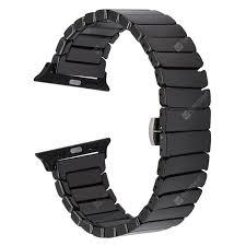 <b>Ceramic Watchband for</b> Apple Watch Band 38mm 42mm Smart ...