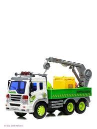 <b>Машина грузовик</b>- мусоровоз с манипулятором <b>Drift</b> 2043889 в ...