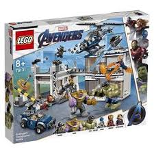 <b>Конструктор LEGO Marvel Super Heroes</b> 76131 Битва на базе ...