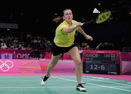 olympics day badminton com