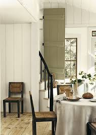 dining room khaki tone: soft neutral colors for a casual dining room ralph lauren paint plaster white and