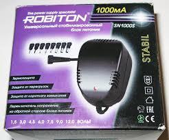 Обзор на Стабилизированный <b>блок питания Robiton</b> SN-1000S