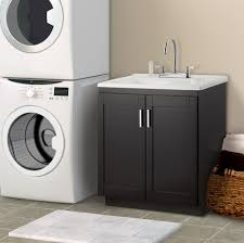 Laundry Cabinets Home Depot Palermo 24 In Laundry Sink With Cabinet Faucet Kit Home Depot