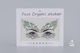 <b>Стразы</b>-наклейки <b>Face</b> Crystal YT15