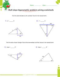 basics trigonometry problems and answers pdf for grade  multi step trigonometry problems worksheets answers pdf searches related to trigonometry problems