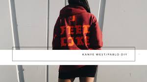 KanyeWest Pablo DIY // <b>I FEEL LIKE PABLO</b> // IMLVH ...