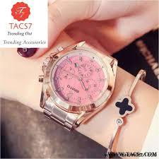 <b>Luxury Rose Gold</b> Creative Quartz Ladies <b>Watch</b>