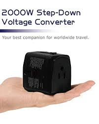 Amazon.com: 2000W Step Down <b>Voltage Converter 220V to</b> 110V ...