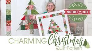 FREE <b>Pattern</b>: Charming <b>Christmas</b>   Shortcut Quilt   Fat Quarter ...