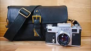 MegaGear <b>Genuine Leather</b> Camera, DSLR <b>Messenger Bag</b> for ...