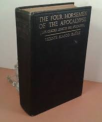 """The <b>Four Horseman Of</b> The Apocalypse"" by V.B. Ibanez. HC 57th ..."