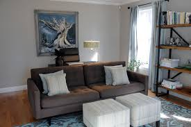 living roomhome office west newbury contemporary living room blue brown home office