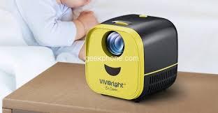 VIVIBRIGHT <b>L1</b> Review - 2200LM 480P <b>LED Projector</b> at $43.99 ...