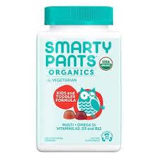 SmartyPants USDA Organic Kids & <b>Toddler</b> Formula <b>Multivitamin</b> ...