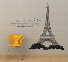 aliexpresscom buy paris eiffel tower diy wall sticker paper aliexpresscom buy office decoration diy wall